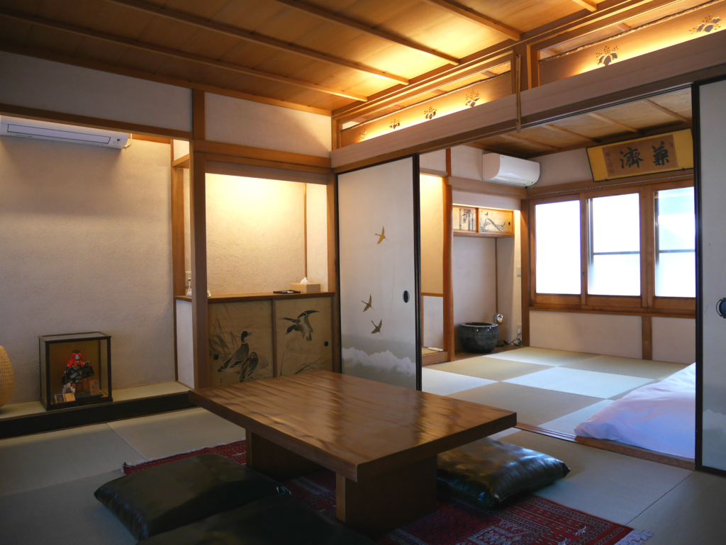 Guest room introduction -Ku 空-(Japanese -style room with veranda)